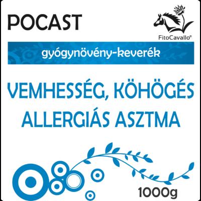 vemhes, allergiás kehes, nehezített légzés