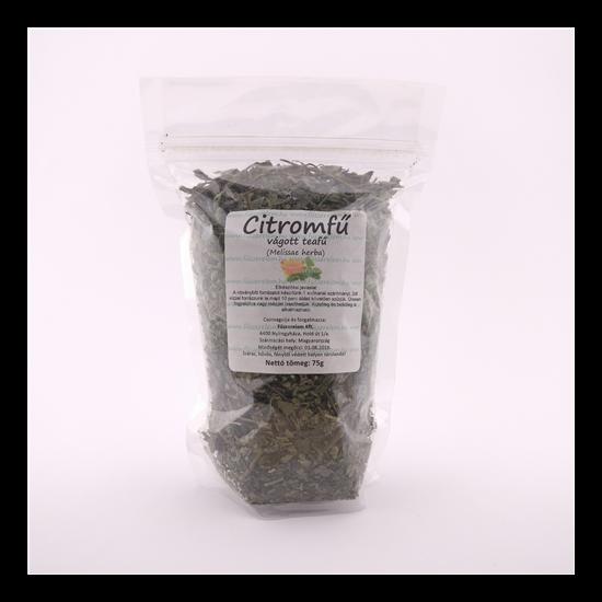 Citromfű, vágott tea 75g
